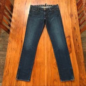 🇺🇸Earnest Sewn Harlan Skinny with Leg Zippers 29